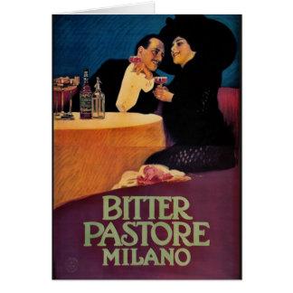 Italian Bitters Ad 1913 Card