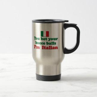 Italian Bocce Balls Travel Mug