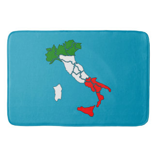 Italian boot bath mat