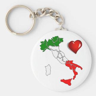 Italian boot key ring