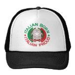 Italian Born Italian Proud Cap