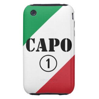 Italian Bosses Capo Numero Uno iPhone3 Case