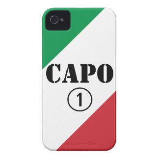 Italian Bosses Capo Numero Uno iPhone 4 Cases