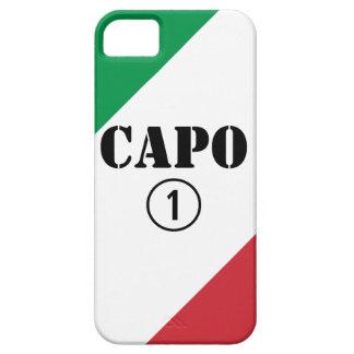 Italian Bosses Capo Numero Uno iPhone 5 Cases