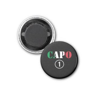 Italian Bosses Capo Numero Uno Refrigerator Magnet