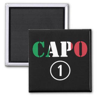 Italian Bosses Capo Numero Uno Fridge Magnet