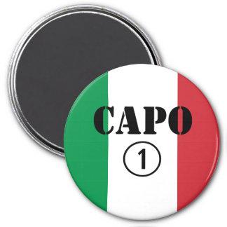 Italian Bosses Capo Numero Uno Refrigerator Magnets