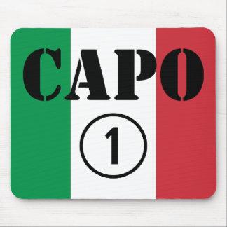 Italian Bosses Capo Numero Uno Mousepads