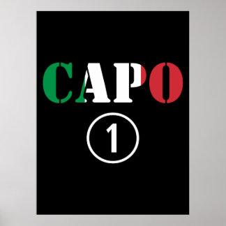 Italian Bosses Capo Numero Uno Print