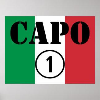 Italian Bosses Capo Numero Uno Poster