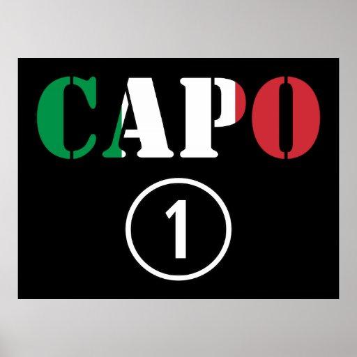 Italian Bosses : Capo Numero Uno Print
