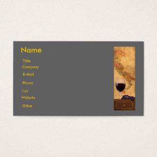 italian Business Card Template