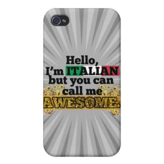 Italian, but call me Awesome iPhone 4/4S Case