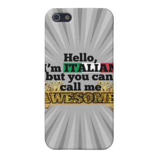Italian but call me Awesome Covers For iPhone 5