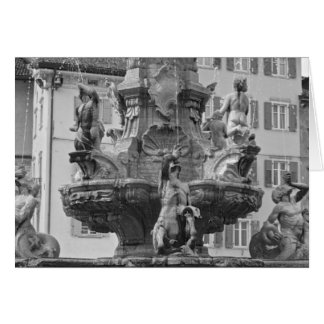 Italian cards, Fountain of Neptune & Torre Trento Card