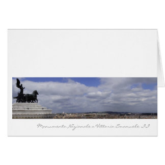 Italian cards, Monument to Victor Emmanuel II Rome Card