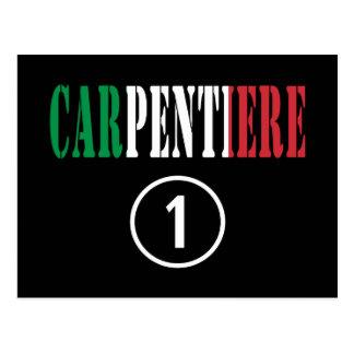 Italian Carpenters : Carpentiere Numero Uno Post Card