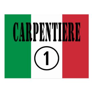 Italian Carpenters : Carpentiere Numero Uno Postcards