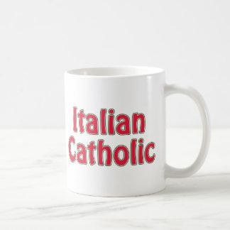 Italian Catholic Coffee Mugs