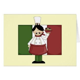 Italian Chef - Customizable Cards