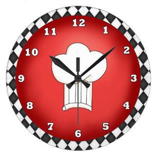 Italian Chef Hat clock