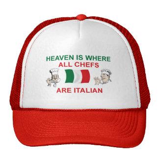 Italian Chefs Cap