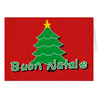 Italian Christmas Greeting Card