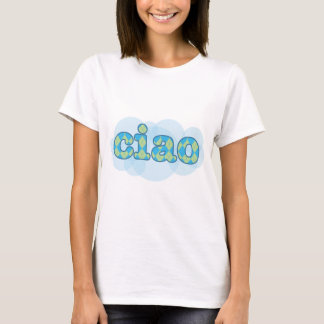 italian ciao with argyle T-Shirt