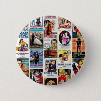 Italian cinema 6 cm round badge