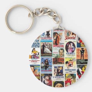 Italian cinema key ring