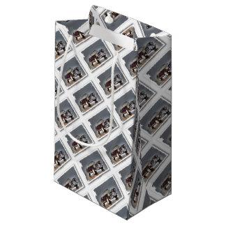 Italian convertible - Artwork Jean Louis Glineur Small Gift Bag
