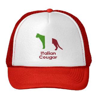 Italian Cougar Trucker Hats