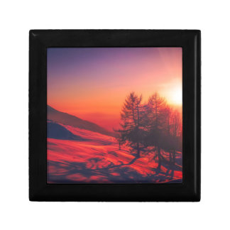 Italian Countryside at Dusk Gift Box
