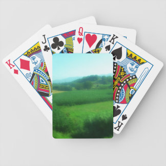 Italian Countryside Poker Deck