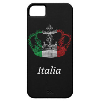 Italian Crown Flag Phone Case iPhone 5 Cover