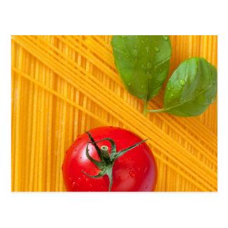 Italian Cuisine Postcard