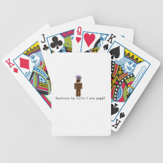 Italian-Daddy Bicycle Playing Cards