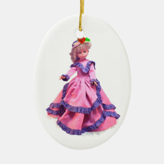 Italian Doll Ceramic Ornament