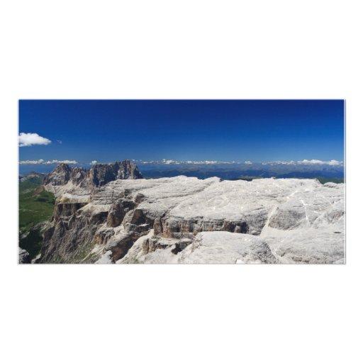 Italian Dolomites - Sella Group Custom Photo Card