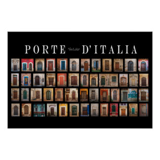 Italian Doors (Porte d'Italia) Poster
