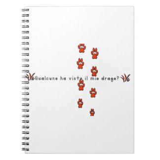 Italian-Dragon Notebooks