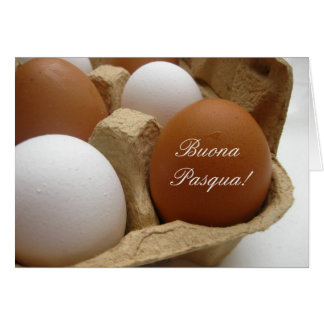 italian easter egg greeting card