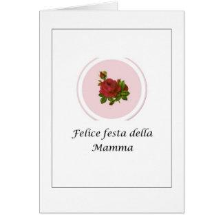 Italian Felice festa della Mamma - Italian Card