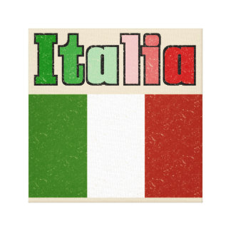 Italian Flag Canvas Print