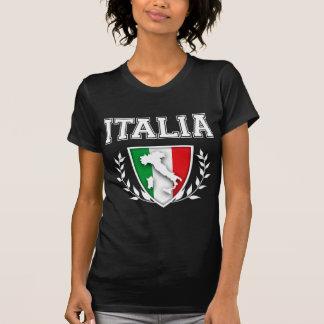Italian Flag Crest T-shirts