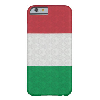 Italian Flag Damask Pattern Barely There iPhone 6 Case