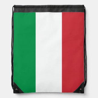 Italian flag drawstring bag | Tricolore of Italy