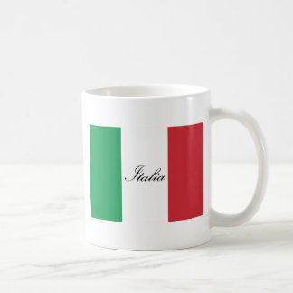 Italian Flag - Flag of Italy -  Italia Coffee Mug