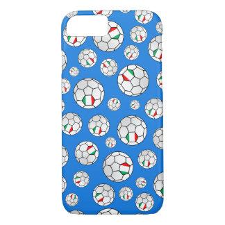 Italian Flag Footballs Soccer Balls Random Pattern iPhone 7 Case