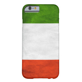 Italian Flag ID iPhone 6 case Barely There iPhone 6 Case